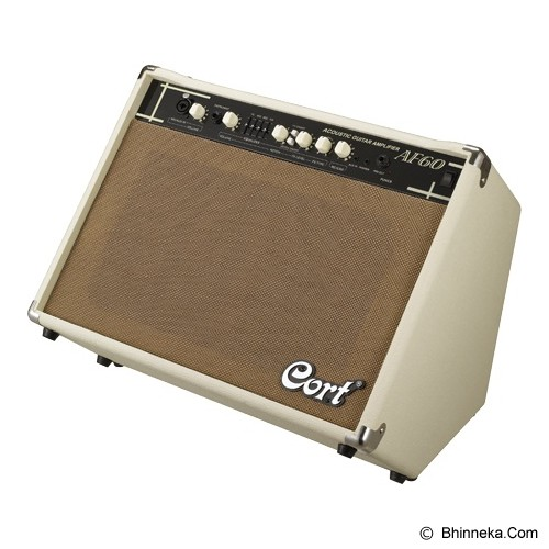 CORT Acoustic Guitar Solid-State Amplifier Combo [AF60] - Gitar Amplifier